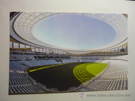 ESTADIO GREEN POINT CIUDAD DEL CABO (Coleccionismo Deportivo - Postales de Deportes - Fútbol)
