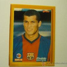Coleccionismo deportivo: POSTAL CARTON DURO F.C.BARCELONA RIVALDO 98-99. Lote 32838781