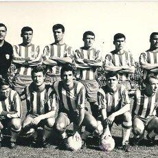 Coleccionismo deportivo: CLUB DEPORTIVO MÁLAGA: PRECIOSA FOTOGRAFÍA ORIGINAL DE LA TEMPORADA 66-67. Lote 32964995