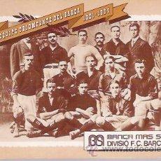 Coleccionismo deportivo: LIBRITO CON 15 FOTOS - POSTALES DEL EQUIPO C.F. BARCELONA, BARÇA, EDITADO POR BANCA MAS SARDA.. Lote 34421274
