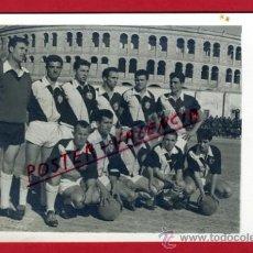 Coleccionismo deportivo: POSTAL FUTBOL, FOTO PLANTILLA EQUIPO REQUENA , VALENCIA , ORIGINAL, P71426. Lote 33368381