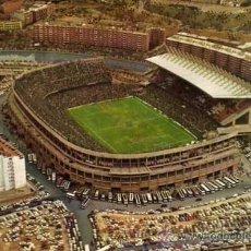 Coleccionismo deportivo: POSTAL 298 ESTADIO VICENTE CALDERON. MADRID. EN EL REVERSO MENU BODA. 1977.. Lote 33701994