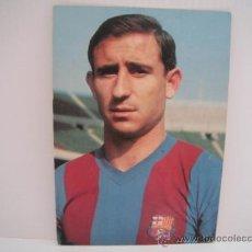 Coleccionismo deportivo: POSTAL DE ZABALLA (C.F.BARCELONA). AÑOS 60´. FOTO SEGUI. POSTAL OSCAR COLOR. Lote 33796122