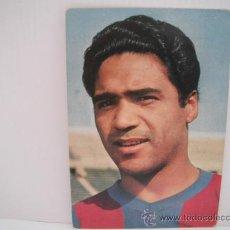 Coleccionismo deportivo: POSTAL DE BENITEZ (C.F.BARCELONA). AÑOS 60´.FOTO SEGUÍ. POSTAL OSCAR COLOR. Lote 33796148