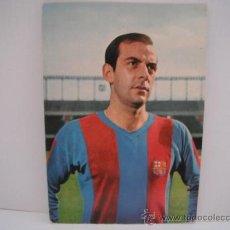 Coleccionismo deportivo: POSTAL DE PEREDA (C.F.BARCELONA). AÑOS 60´. POSTAL OSCAR COLOR. Lote 33796282