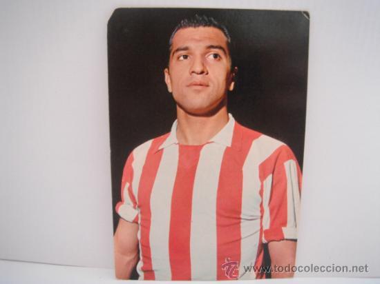 POSTAL DE COLO (AT. MADRID). AÑOS 60´. FOTO SEGUI. POSTAL OSCAR COLOR (Coleccionismo Deportivo - Postales de Deportes - Fútbol)