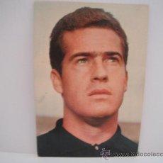 Coleccionismo deportivo: POSTAL DE PESUDO (VALENCIA C.F.) AÑOS 60´. FOTO SEGUI. POSTAL OSCAR COLOR. Lote 33796338