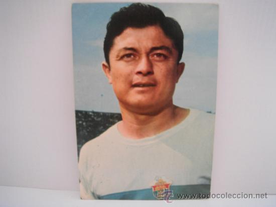 POSTAL DE ROMERO (ELCHE C.F.) AÑOS 60´. POSTAL OSCAR COLOR (Coleccionismo Deportivo - Postales de Deportes - Fútbol)