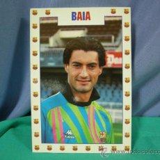 Coleccionismo deportivo: TARJETA POSTAL DEL F.C. BARCELONA FUTBOL JUGADOR BAIA - FOTO SEGUI. Lote 33940165