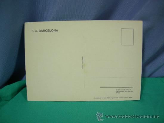 Coleccionismo deportivo: TARJETA POSTAL DEL F.C. BARCELONA FUTBOL JUGADOR BAIA - FOTO SEGUI - Foto 2 - 33940165