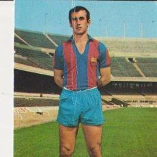 Coleccionismo deportivo: C.F.BARCELONA JUAN CARLOS,FOTO SEGUI,BERGAS INDUSTRIAS GRAFICAS. Lote 34076484