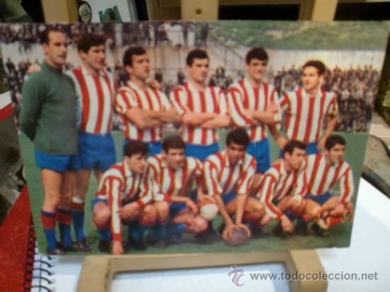 ATLETICO MADRID POSTAL AÑO 1967 NUEVA (Coleccionismo Deportivo - Postales de Deportes - Fútbol)