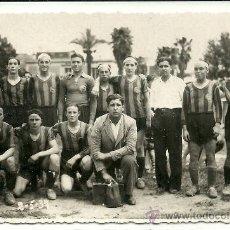 Coleccionismo deportivo: (F-18)POSTAL FOTOGRAFICA DEL EQUIPO FOOT-BALL AVENÇ FECHADA EL 2-5-1937. Lote 35217638