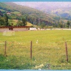 Coleccionismo deportivo: POSTAL DE CANTABRIA, ESTADIO DE FÚTBOL. POTES, MUNICIPAL LEBANIEGO. 1643 . Lote 35486371