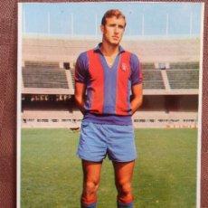 Coleccionismo deportivo: POSTAL JUGADOR DE FUTBOL CLUB FC BARCELONA F.C BARÇA CF REXACH FOTO SEGUI VER FOTOS . Lote 49427628