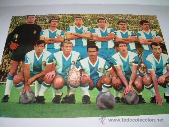 ANTIGUA POSTAL FOTOGRAFICA.....R.C.D. ESPAÑOL (Coleccionismo Deportivo - Postales de Deportes - Fútbol)
