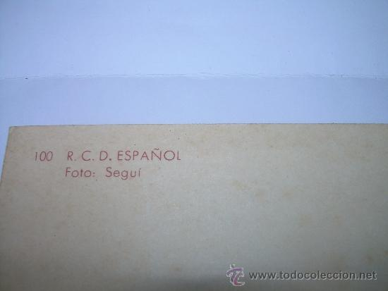 Coleccionismo deportivo: ANTIGUA POSTAL FOTOGRAFICA.....R.C.D. ESPAÑOL - Foto 3 - 36272814