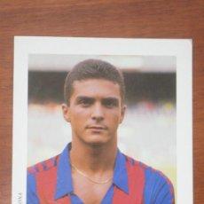 Coleccionismo deportivo: POSTAL GUILLERMO AMOR FC BARCELONA MEYBA. Lote 36375890