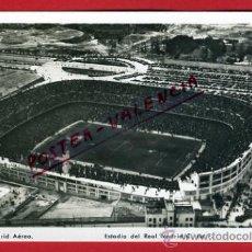 Coleccionismo deportivo: POSTAL FUTBOL, CAMPO FUTBOL ESTADIO AEREO, REAL MADRID , P76403. Lote 36545856