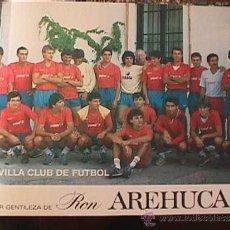 Coleccionismo deportivo: SEVILLA CLUB DE FUTBOL, 1986, CORTESIA DE RON AREHUCAS. Lote 36637551
