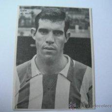 Coleccionismo deportivo: FOTO BLANCO Y NEGRO EN PAPEL DE LUIS/RUIZ SOSA (AT.MADRID). AÑOS 60´.. Lote 36909223