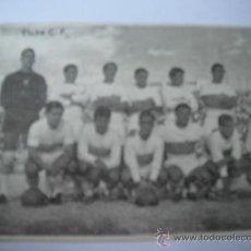 Coleccionismo deportivo: FOTO BLANCO Y NEGRO EN PAPEL DE ALINEACION ELCHE/PONTEVEDRA. AÑOS 60´.. Lote 36909242