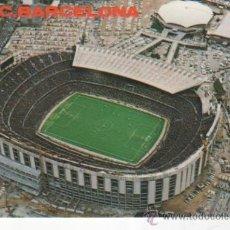 Coleccionismo deportivo: POSTAL ESTADIO F. C. BARCELONA. FOTOGRAFÍA A. CAMPAÑÁ. POSTALES KOLORHAM. Lote 37029590