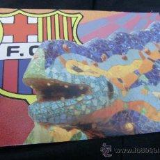 Coleccionismo deportivo: POSTAL POSTCARD F C BARCELONA BARÇA DRAGON GAUDI. Lote 36924091