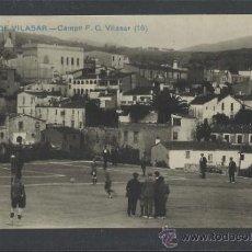 Coleccionismo deportivo: SAN GINES DE VILASAR - CAMPO DE F.C VILASAR - FOTOGRAFICA - (15.815). Lote 37333003