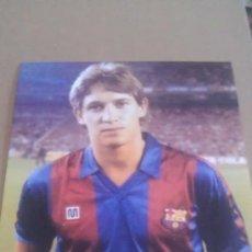 Coleccionismo deportivo: FOTO DE LINEKER CON EL BARCELONA - GOLY. Lote 92357669