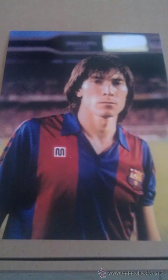FOTO DE CARRASCO CON EL BARCELONA - GOLY (Coleccionismo Deportivo - Postales de Deportes - Fútbol)