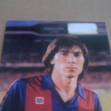 Coleccionismo deportivo: FOTO DE CARRASCO CON EL BARCELONA - GOLY. Lote 92357710