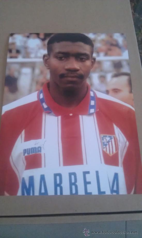 FOTO DE TREN VALENCIA CON EL AT.MADRID - GOLY (Coleccionismo Deportivo - Postales de Deportes - Fútbol)