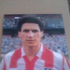 Coleccionismo deportivo: FOTO DE BALTAZAR CON EL AT.MADRID - GOLY. Lote 92357964
