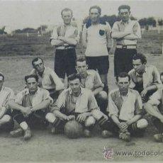 Coleccionismo deportivo: ANTIGUA FOTOGRAFIA ALBUMINA DEL CLUB DE BELLA VISTA DE MONTEVIDEO, URUGUAY, FUTBOL, EXCELENTE FOTOGR. Lote 37526633