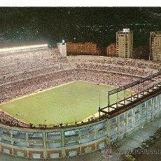 Coleccionismo deportivo: MADRID ASPECTO NOCTURNO DEL ESTADIO BERNABEU AÑOS 70 (PARA EL RECUERDO). Lote 37557536