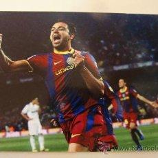 Coleccionismo deportivo: POSTAL POST CARD F C BARCELONA BARÇA XAVI HERNANDEZ. Lote 37588036