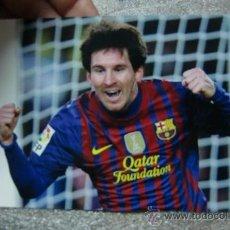Coleccionismo deportivo: POSTAL F C BARCELONA BARÇA LEO MESSI POST CARD. Lote 38153492