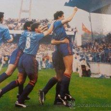 Coleccionismo deportivo: FOTO LA 3ª RECOPA 1989-F.C.BARCELONA-(18 X 24 CM)-FICHA PAPEL POSTAL GRAN ÀLBUM BARÇA.. Lote 38406665