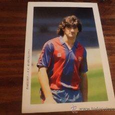 Coleccionismo deportivo: POSTAL F C BARCELONA DREAM TEAM 1992 JOSE MARI BAKERO. Lote 38461292