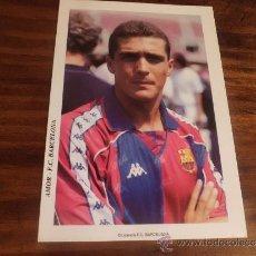 Coleccionismo deportivo: POSTAL F C BARCELONA DREAM TEAM 1992 AMOR. Lote 38461306