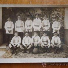 Coleccionismo deportivo: MAGNIFICA FOTOGRAFIA POSTAL EQUIPO DE FUTBOL AÑOS 20 O ANTERIOR, . Lote 38497388
