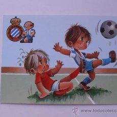 Coleccionismo deportivo: ANTIGUA POSTAL DEL R.C.D.ESPAÑOL. Lote 38507428