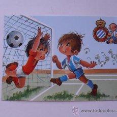 Coleccionismo deportivo: ANTIGUA POSTAL DEL R.C.D.ESPAÑOL. Lote 38507429
