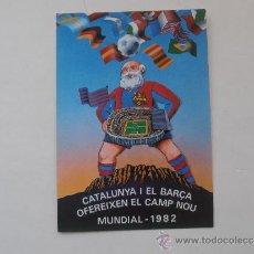 Coleccionismo deportivo: ANTIGUA POSTAL DEL F.C.BARCELONA. Lote 38507476