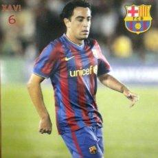 Coleccionismo deportivo: POSTAL F.C. BARCELONA POST CARD FOOTBALL XAVI HERNANDEZ. Lote 42359419