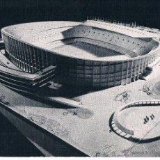 Coleccionismo deportivo: MAQUETA DEL NUEVO CAMPO DEL C.F. BARCELONA. 1954. Nº 4. Lote 39570075