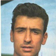 Coleccionismo deportivo: POSTAL DE FUTBOL - DEL FAMOSO PORTERO SADURNI DEL C.F.BARCEONA - BARÇA Nº 12 DE BERGA ESTA FIRMADA . Lote 39934836