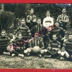 Coleccionismo deportivo: POSTAL FUTBOL , EQUIPO CATALAN DEL FOIX O REUS, LEER REVERSO, ANTIGUA 1911 ,ORIGINAL . Lote 40202432