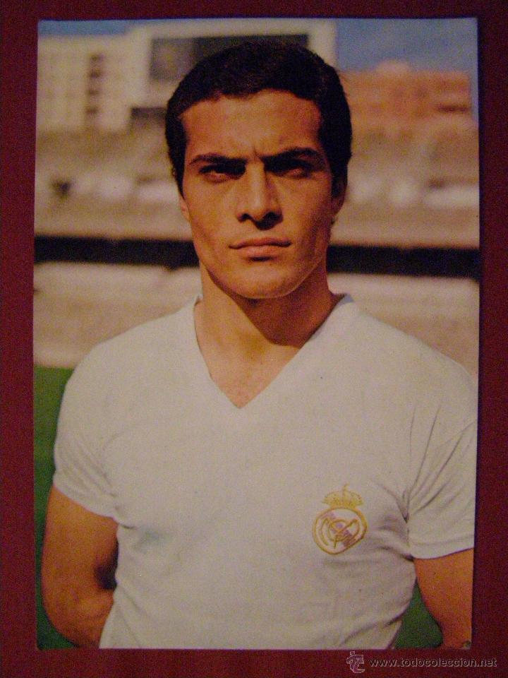 SAN JOSÉ - JUGADOR DEL REAL MADRID - POSTAL - (Coleccionismo Deportivo - Postales de Deportes - Fútbol)